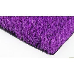 Ландшафтный искусственный газон фиолетовый 30мм