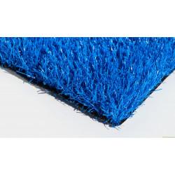 Ландшафтный искусственный газон синий 30мм