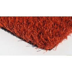 Ландшафтный искусственный газон красный 30мм